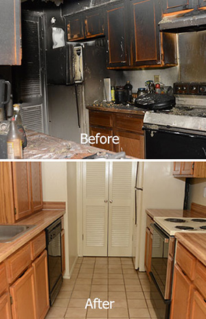 Fire and Smoke Damage Restoration Service in Paris, TX
