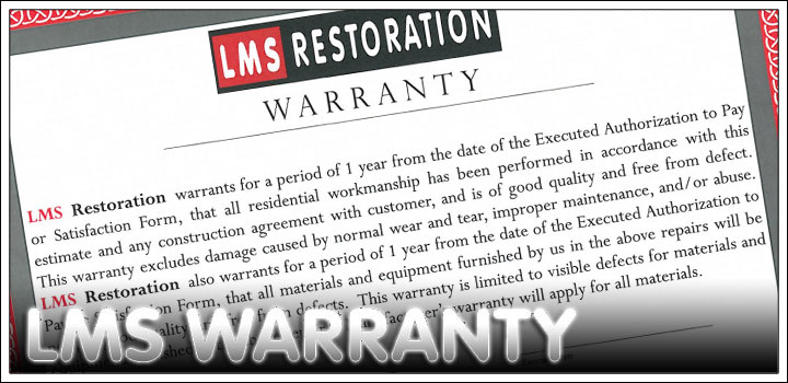 LMS Restoration Warranty