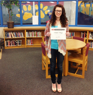 LMS Scholarship winner from north lamar