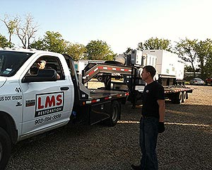 LMS Large Loss Equipment Truck