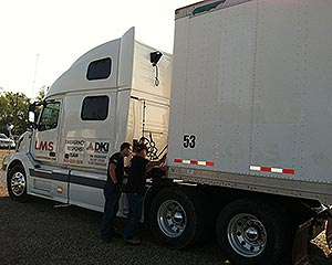 LMS Semi Truck for Disaster Recovery