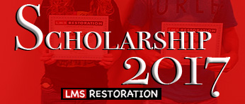 Annual Scholarship for Lamar County Seniors 2017 by LMS Restoration